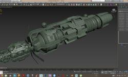 3D model of Babylon 6 - 3D-модель вавилона-6