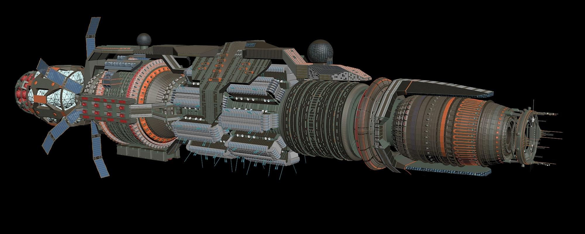 WIP Babylon 6 Rebuild 11