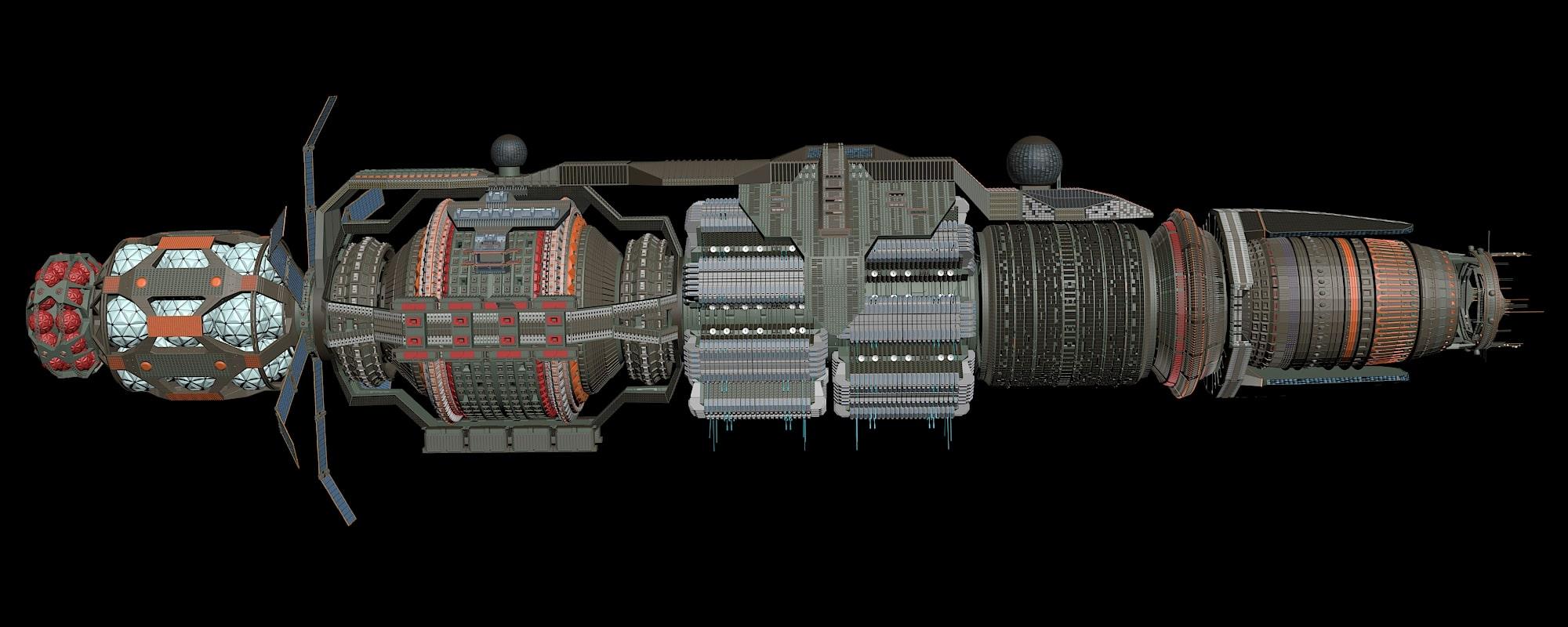 WIP Babylon 6 Rebuild 12