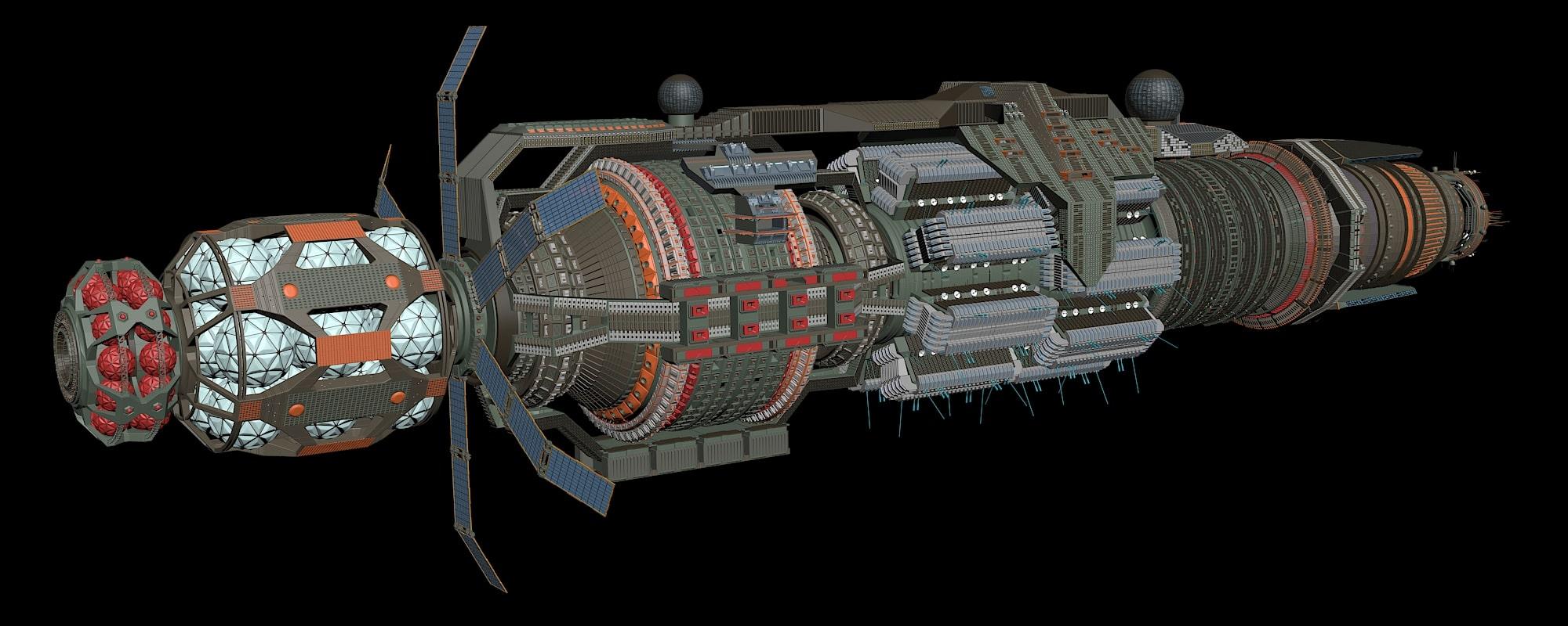 WIP Babylon 6 Rebuild 13
