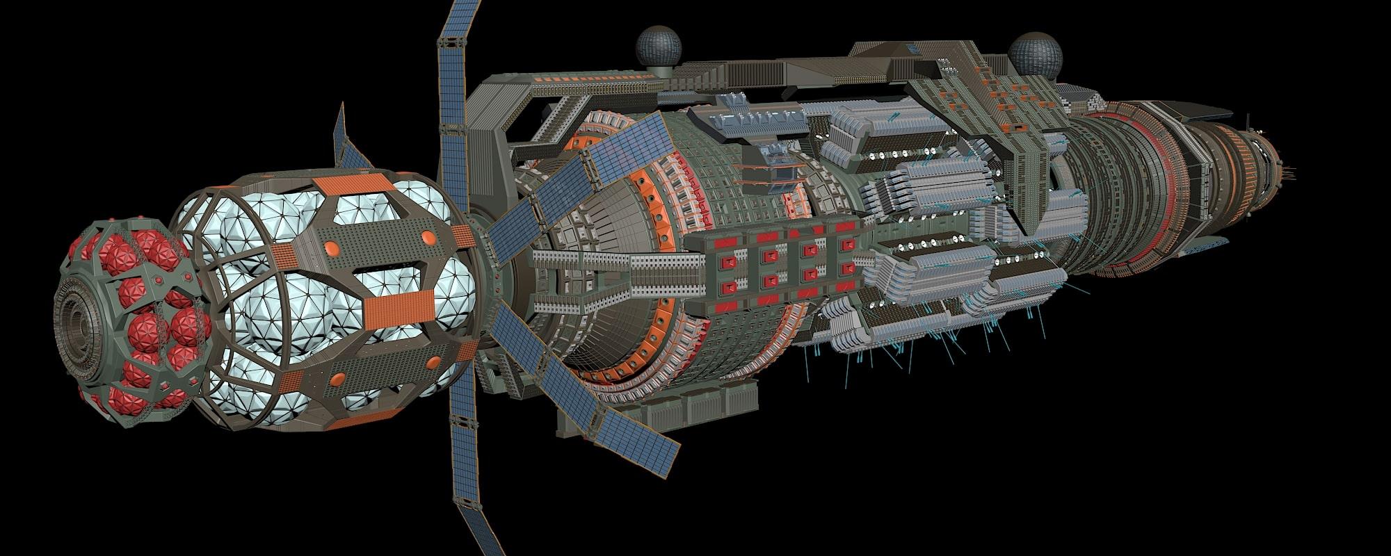 WIP Babylon 6 Rebuild 14