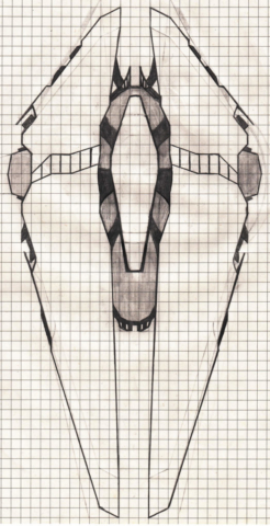 Heavy cruiser concept 2