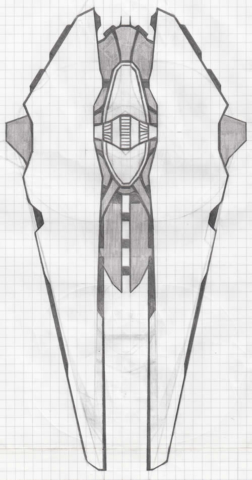 Heavy cruiser Kalat concept